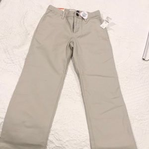 Gap kids brand new khaki pants for boys